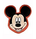 Mickey Mouse Shaped Cushion