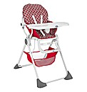 Chicco Pocket Lunch Highchair - Red Wave