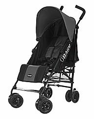 Obaby Atlas Stroller - Black and Grey