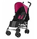 Obaby Atlas Stroller - Black and Pink