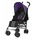 Obaby Atlas Stroller - Black and Purple