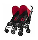Obaby Apollo Twin Stroller - Red