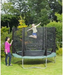 Plum 8 Ft Trampoline & 3G Enclosure