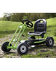 Lightning Go Kart Race Green