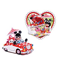 I Love Minnie Car Playset