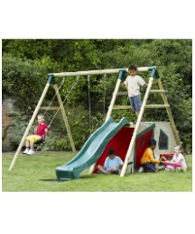 Plum Chacma Wooden Pole Activity Set