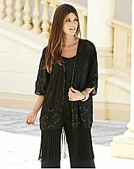 JOANNA HOPE Beaded Kimono £79.00 AT vintagedancer.com
