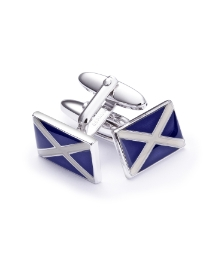 Hunt & Holditch Cufflinks Scottish Flag