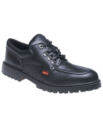 Leather Lace Up School Shoe