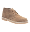 Suede Lace Up Desert Boot