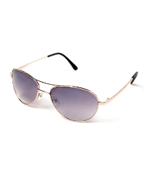 Viva La Diva Angelina Aviator Gold Smoke