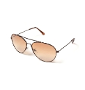 Viva La Diva Demi Aviator Sunglasses