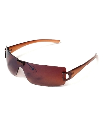 Viva La Diva Princess Brown Sunglasses
