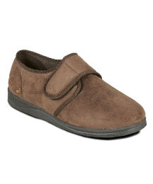 Padders Mens Touch and Close Slipper