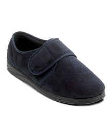 Padders Mens velcro slipper