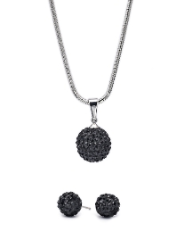 Malissa J Icicle Necklace/Earring Set