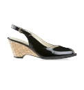 Van Dal Cadiz Black Patent Wedges
