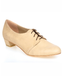 Feud Natural Bridgette Lace Up Low Shoe