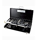 Compact 3 Burner Gas Cooker & Grill