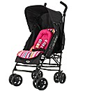 OBaby Atlas V2 Stroller Pink Stripe