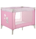 Tiny Tatty Teddy Travel Cot - Pink