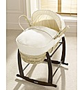 Clair de Lune Stardust Moses Basket
