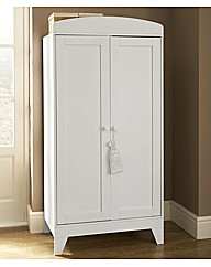 Lollipop Lane Oakhill Wardrobe - White
