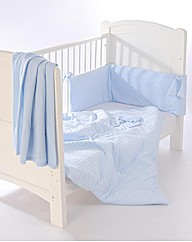 Clair de Lune Dimple 3 Pc Bedding Bale