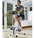 Magnetic Exercise Bike with Back Support