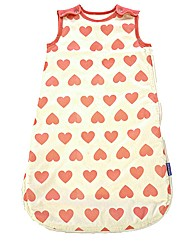 Babasac Pink Heart Sleeping Bag Multitog