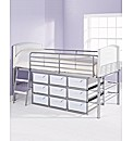 High Sleeper Single Storage Bed