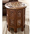 Assam Solid Sheesham Octagonal Table