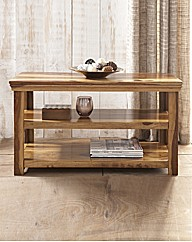 Agra Solid Sheesham Wood TV Unit