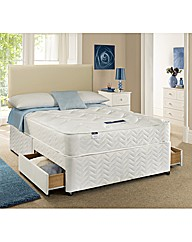 Silentnight Grace Single Divan 2 Drawers