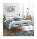 Phoenix Double Bed With Mattress