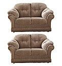 Suffolk Two Seater & Two Seater Sofa