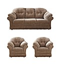 Suffolk Three Seater Sofa & Two Chairs