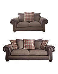 Hamilton Three & Two Seater Sofa