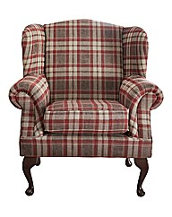 Hamilton Wingback Accent Chair