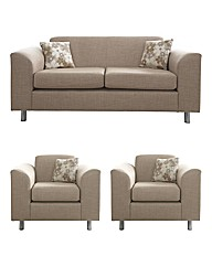 Mackenzie Three Seater & Two Chairs