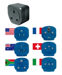 Travel Adaptor Plug Set
