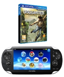 PS Vita Wi-Fi + Uncharted Golden Abyss