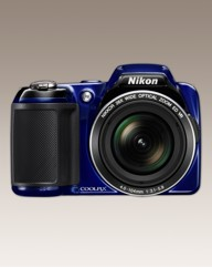 Nikon 16MP 26x Zoom Digital Camera Blue