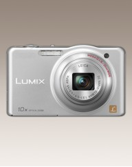 Panasonic 16MP 10x Zoom Camera Silver