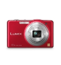 Panasonic 16MP 10x Zoom Camera Red