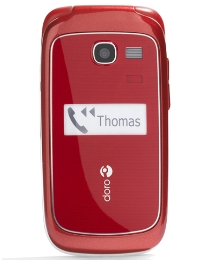 Doro 615 Sim Free Red Mobile Phone