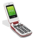 Doro 610 Sim Free Red Mobile Phone