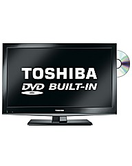 Toshiba 26in LED/DVD Combi
