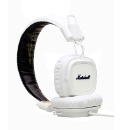 Marshall Major Headphones With Mic White