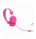 Coloud Colours Headphone With Mic Pink